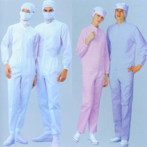 Anti-Static Clothing Used in Cleanroom pictures & photos