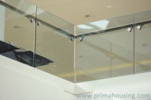 Safety Toughened Glass Balustrade/Glass Railing pictures & photos