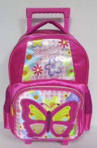 Butterfly School Trolly Bag School Backpack