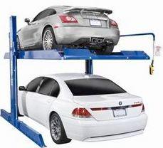 Electric Release Four Post Auto Parking Lift/Car Parking Lift pictures & photos
