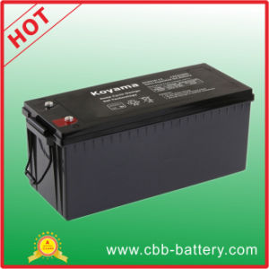 Good Quality 210ah 12V Deep Cycle Battery Gel Battery for Electric Vehicle pictures & photos