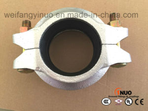 High Pressure 500 Psi Galvanized Grooved Coupling with FM/UL/Ce Certificates pictures & photos