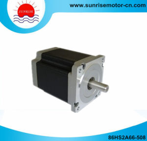 86hs2a66 5A 220n. Cm NEMA34 1.8deg. CNC 2phase Stepper Motor pictures & photos