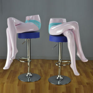 Yazi Fiberglass Female Legs Sitting Mannequin for Underwear Display pictures & photos
