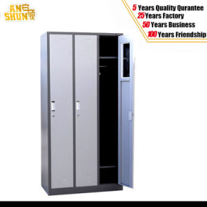 3-Door Metal Wardrobe Locker for Office Home Hospital Gym Use pictures & photos