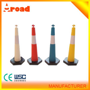Strong and Durable T- Top Stacker Cone with PE Material pictures & photos