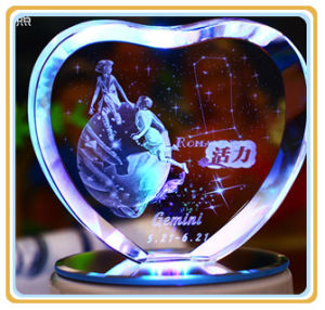 Laser Engraving Machine with Price 3D Photo Crystal Engraving Machine pictures & photos