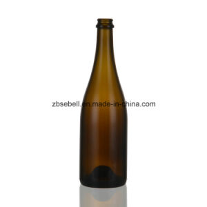 Champagne Bottle, 750ml Glass Bottle pictures & photos