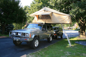 High Duty Camping Car Roof Tent for Traveling pictures & photos
