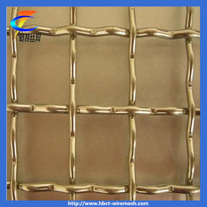 Brass Wire Crimped Wire Mesh pictures & photos