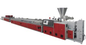 WPC Outdoor Floor Extruding Production Line pictures & photos