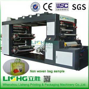 4 Colour High Speed Non Woven Bag Flexo Printing Machine pictures & photos