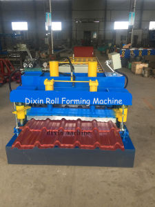 Aluminium Coated Step Tile Roofing Sheet Making Machine pictures & photos