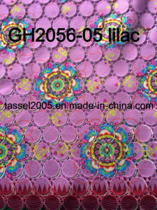 Hot Sell Printed Guipure Lace for Clothing pictures & photos