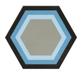 2015 Tile New Design Porcelain Hexagonal Flooring Tile and Bedroom Tile