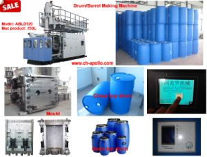 Chinese 160L~250L HDPE Drum Blow Molding Machine pictures & photos