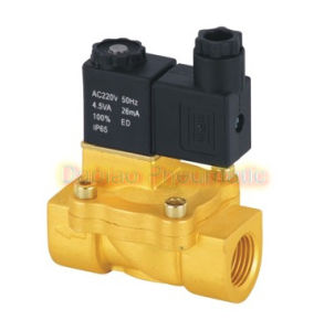 1/2′′ Guide Solenoid Valves Brass CV=6.2 Normally Closed Water Air Solenoid Valves Model 2V130-15 pictures & photos