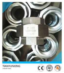 A105 Carbon Steel Forged Fittings Female Threaded Union pictures & photos