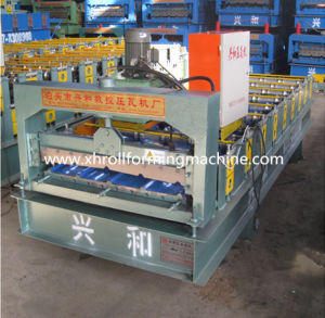 Roof / Wall Color Steel Tile Roll Forming Machine (XH900)