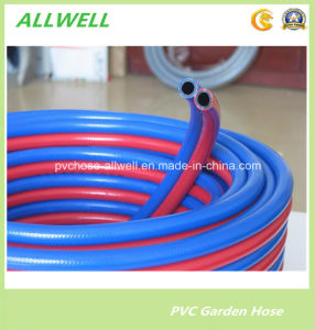 Twin Plastic PVC Oxygen Acetylene Welding Air Spray Tube/Pipe/Hose pictures & photos