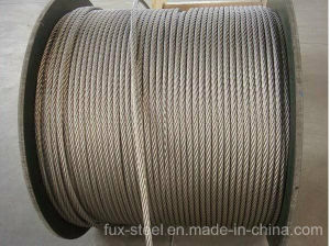 Galvanized and Ungalvaized Round Strand Steel Wire Rope pictures & photos
