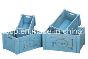 High Quality Luxury Vintage Customized Eco-Friendly Solid Wood Storage Box pictures & photos