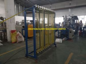 Leading Technology Steel Measure Tape Nylon Coating Extruder Machine pictures & photos
