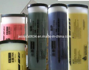 Color Ink (GOLD, SILVER, RED, BLUE, YELLOW, GREEN) for Riso Duplicator pictures & photos