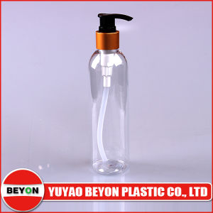 250ml Clear Pet Palstic Loiton Pump Bottle (ZY01 - B031) pictures & photos