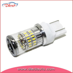 T20 7443 Bay15D Turbo 3014SMD Canbus Wholesale LED Tail/Brake Car Light pictures & photos