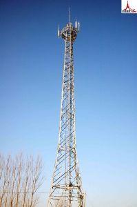 Angle Steel or Steel Pipe Communication Steel Tower pictures & photos