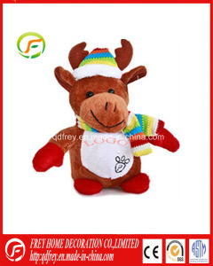 Hot Sale Christmas Toy of Soft Deer with ASTM