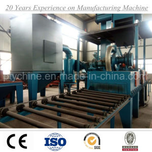 Steel Plate Shot Blasting Machine with ISO BV SGS pictures & photos