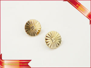 Garment Metal Button Label Clothing Button Metal Tag pictures & photos