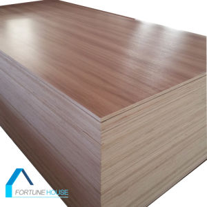 12mm 18mm Teak Melamine Faced Plywood to USA Market pictures & photos