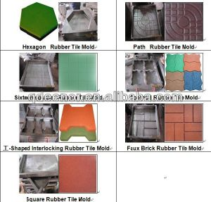 Vulcanizing Rubber Machine / Rubber Tile Making Machine pictures & photos