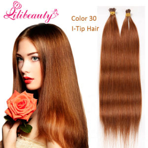 Pre Bonded Keratin I Tip Human Hair Extensions pictures & photos
