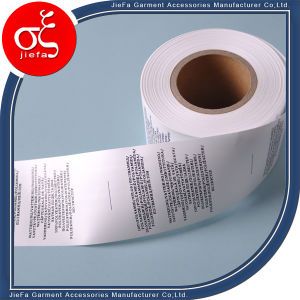 Cheap Price Roll 100%Polyster Wash Printing Care Label pictures & photos