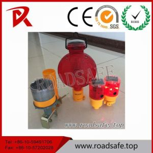 Emergency Solar LED Warning Flashing Lamp/Traffic Cone Light pictures & photos