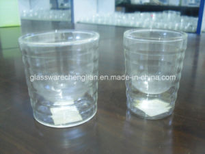 High Borosilicate Double Wall Glass Mug (SDC14421) pictures & photos