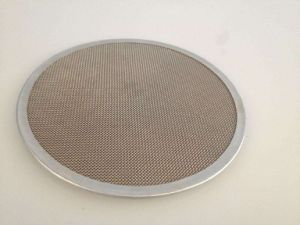 Stainless Steel 100 150 Micron Rimmed Fine Mesh Screen Filter Disc pictures & photos