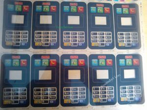 Press Keyboard Panel Keypad Label Graphic Overlay Membrane Switch pictures & photos