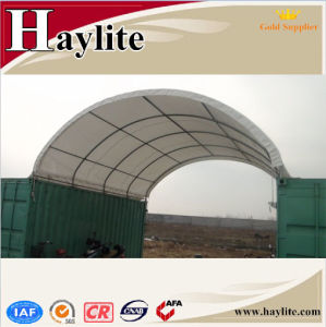 Made in China Galvanised Steel Frame Container Tent pictures & photos