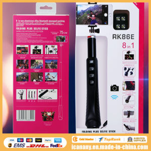 Top Selling Products in Alibab Bluetooth Selfie Stick Extendable Hand Held Monopod Rk86e pictures & photos