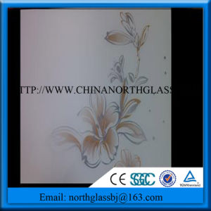 6mm Ceramic Frited Tempered Glass pictures & photos