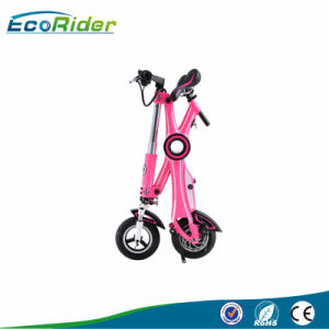 Foldable 350W 36V Electric Bicycle 10 Inch Folding Electric Bicycle pictures & photos
