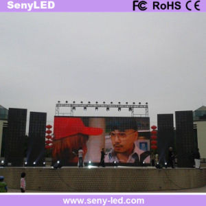 Die Casting Outdoor Video Advertising Cabinet Full Color LED Screen pictures & photos