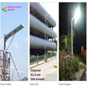 2015 Hot Selling LED Solar Street Light Battery Build Inside pictures & photos