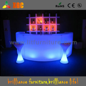 Light up Glowing Bar Counter Display Party Furniture