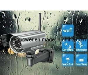 IP Security Outdoor Camera DVR with WiFi, Night Vision (IPC005) pictures & photos